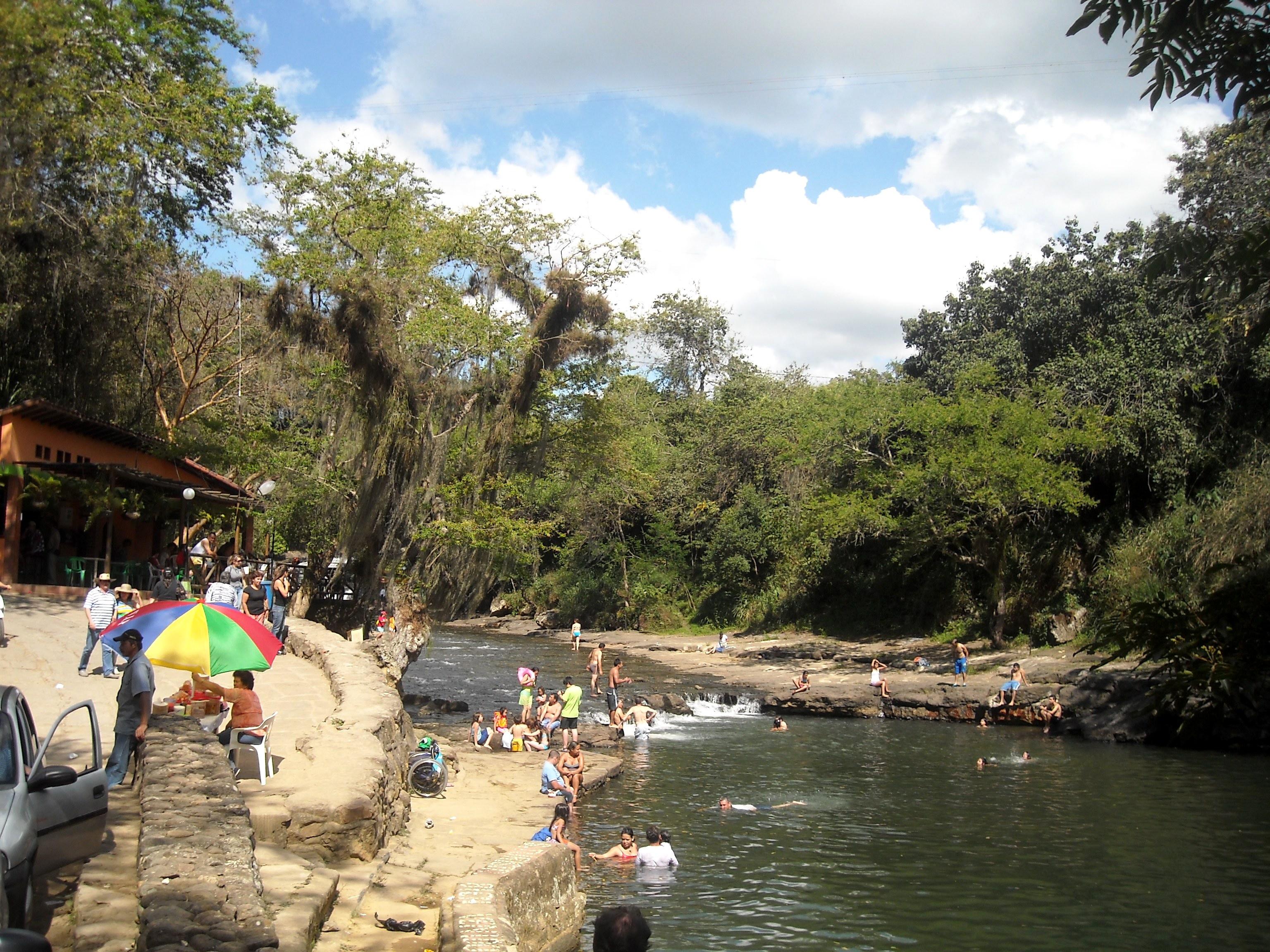 San Gil balneario rio Fonce