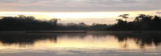 Amanecer en el Amazonas