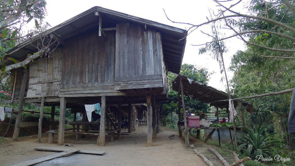 Casa en la selva de Tailandia