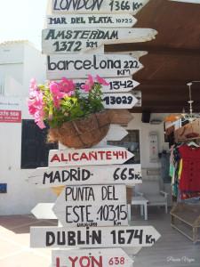 Indicaciones en Menorca
