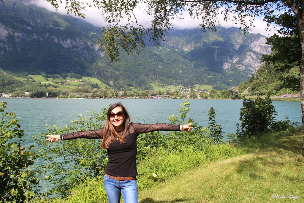 Lago de Walen en Suiza