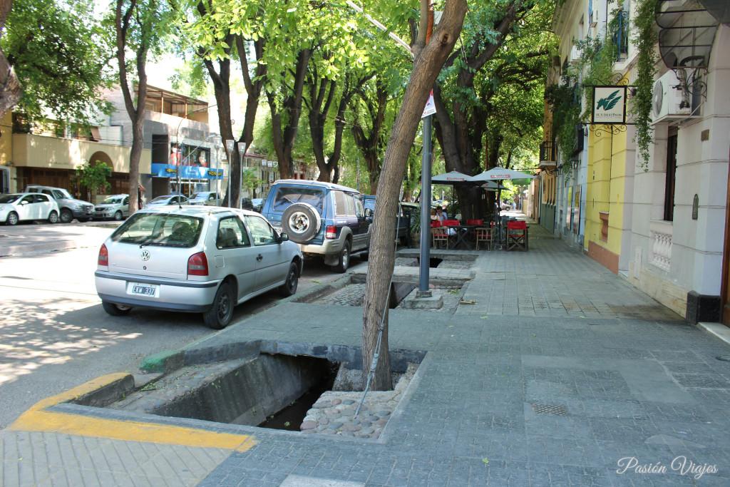 Canales para agua de riego