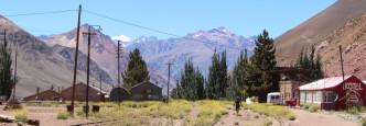 Vías del Ferrocarril Transandino Los Andes