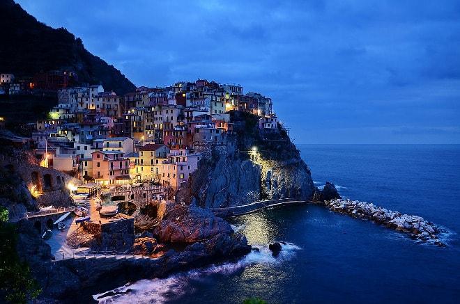 Cinque Terre en Italia.