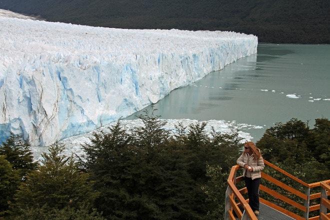 Glaciar Perito Moreno en la Patagonia de Argentina.