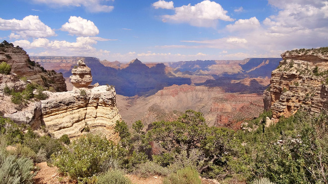 El Gran Cañón en Arizona, Estados Unidos.