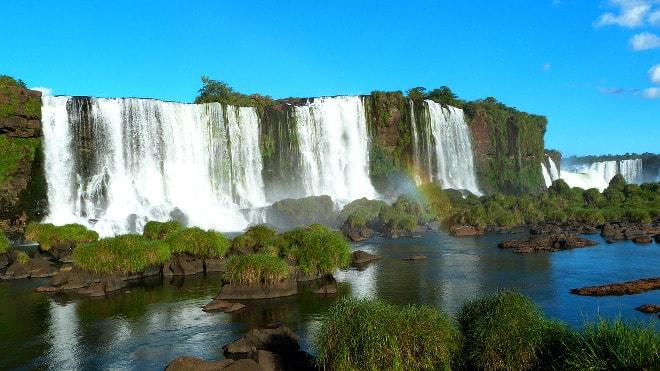 Cataratas do Iguaçu en Brasil.