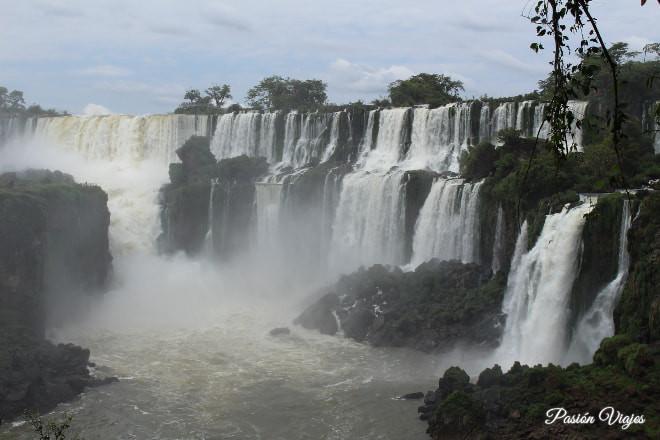 Cataratas del Iguazú en Argentina.