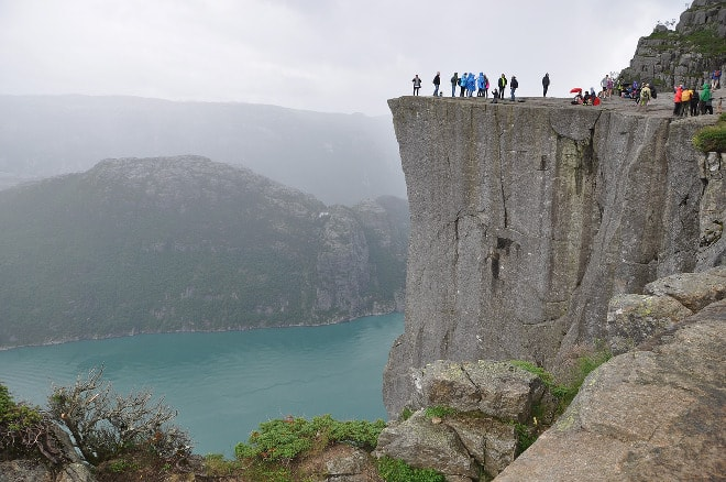 Turista español muere en los fiordos noruegos.