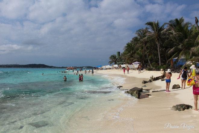 Playa en San Andrés Islas.