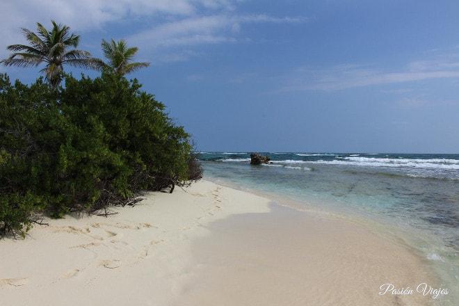 Calor en el mar caribe, San Andrés Islas.
