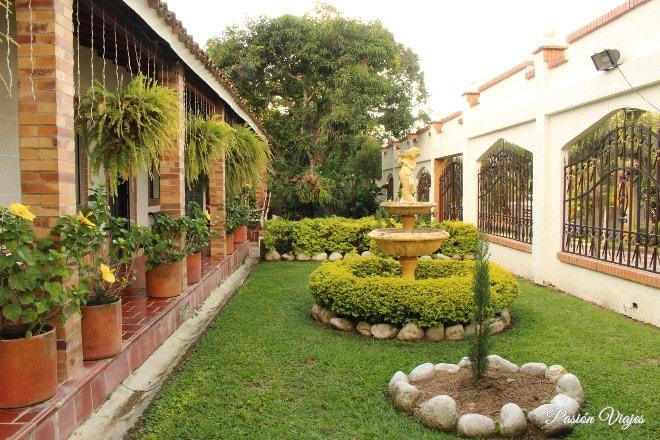 Casa campestre Villa Jardín en Bucaramanga.