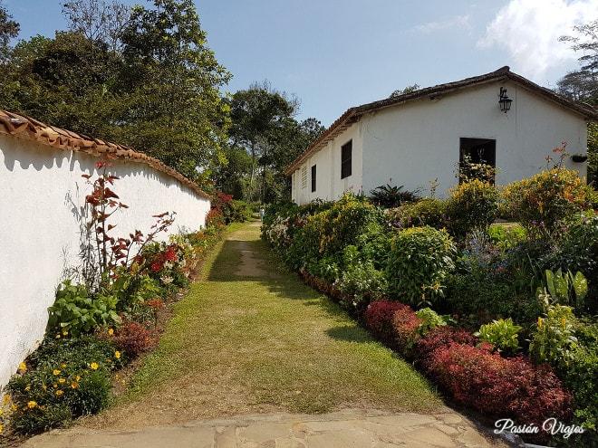 Alrededores de la Hacienda El Roble.