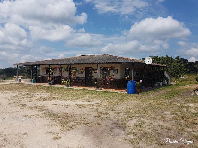 Una tienda muy cercana al Salto del Mico.