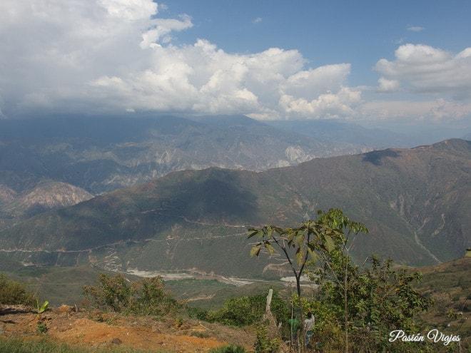 Vistas del Chicamocha.