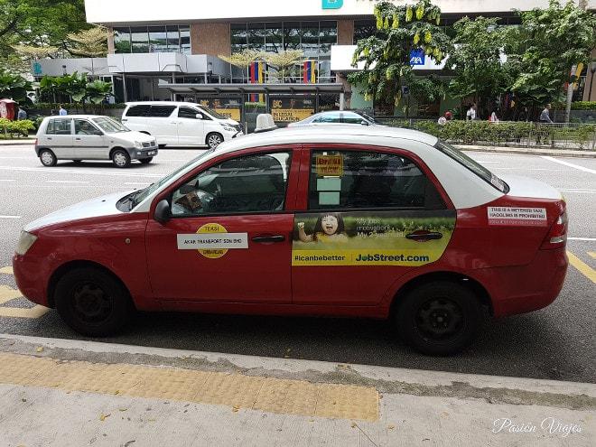 Budget Taxi en Kuala Lumpur.