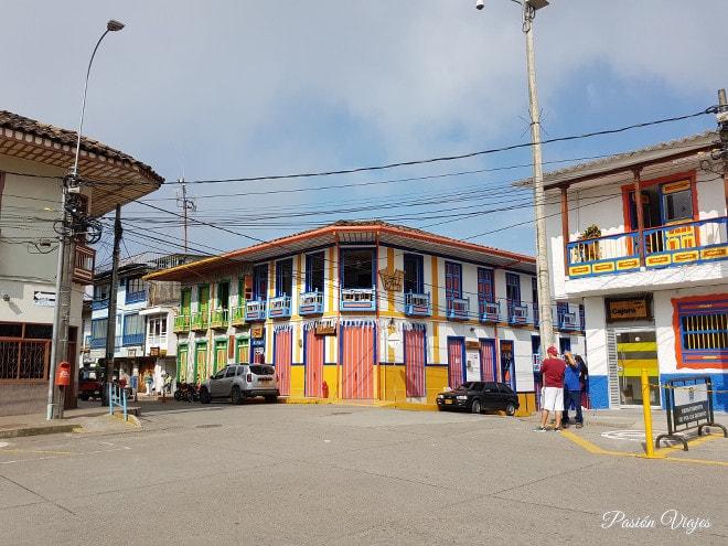 Calles y casas de Filandia.