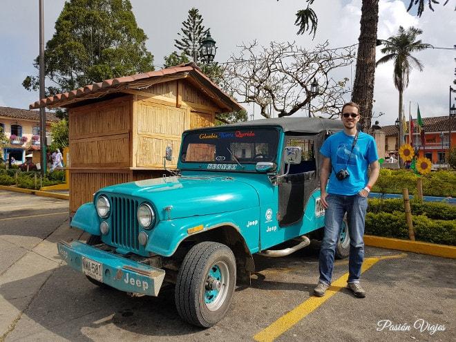 Jeep Willys en Filandia.