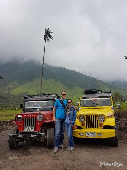 Los jeeps Willys del Valle del Cocora.