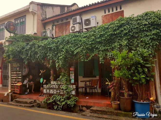Restaurante Calanthe Art Cafe en Malaca.