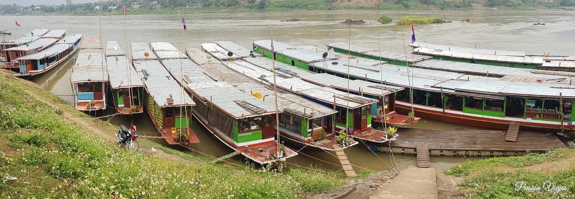 ¿Cómo ir de Chiang Mai a Luang Prabang? Cruzar la frontera + Slow Boat