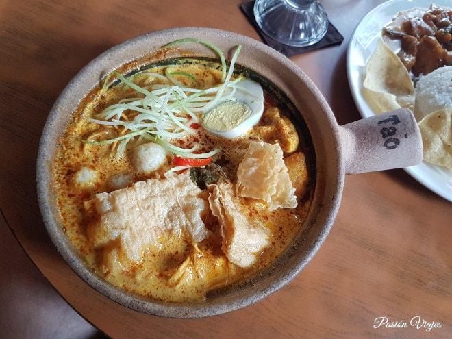 Curry Laksa en Melaka.