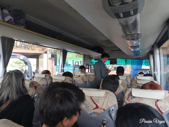 Green Bus local de Chiang Mai a Chiang Khong.