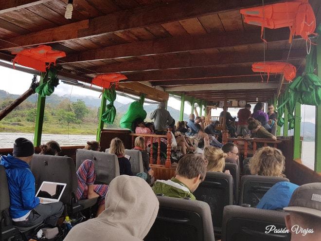 Primer día en el Slow Boat.