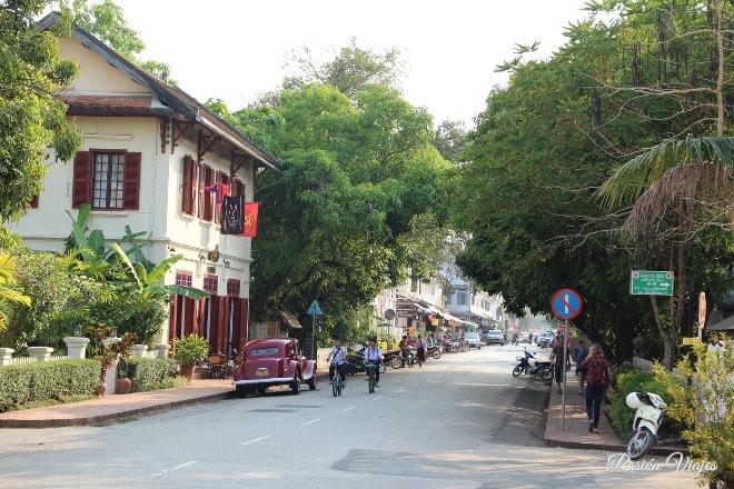 Calles de Luang Prabang.