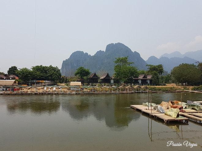 Montañas de Vang Vieng.