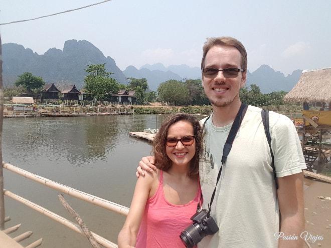 Explorando Vang Vieng.
