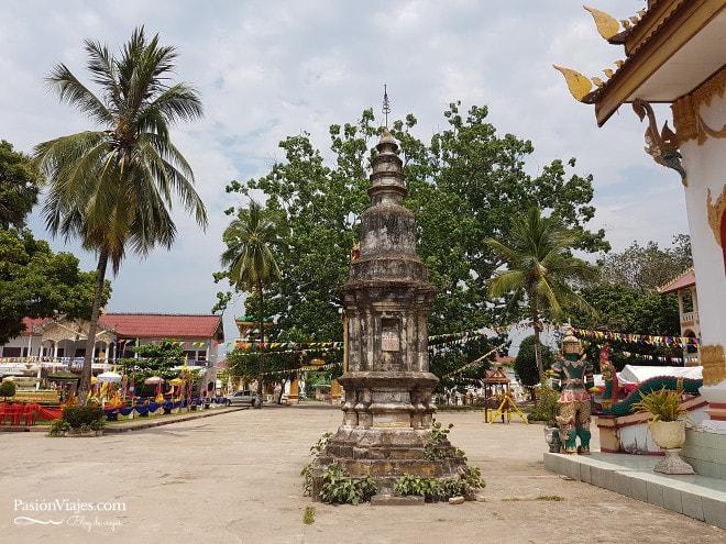 Templo Wat Nabo en el centro de Thakhek.