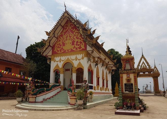 Templo Wat Nabo, ubicado en el centro de Thakhek.