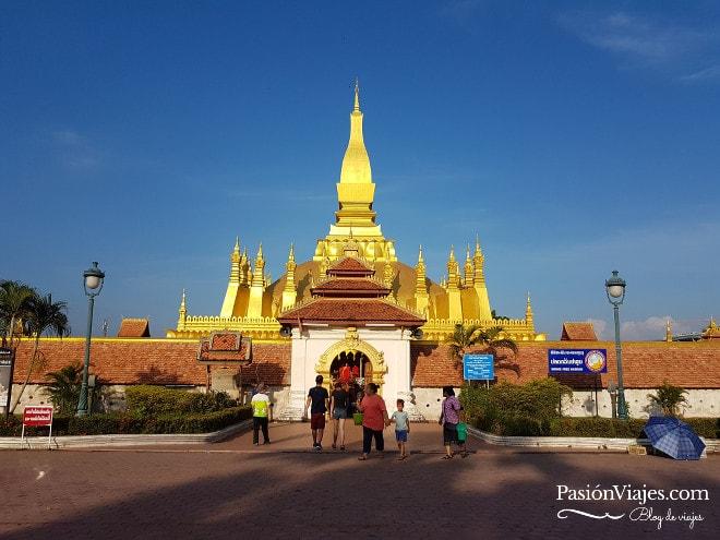Templo Pha That Luang.