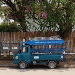 Anécdota de la llegada a Pakse en tuk tuk