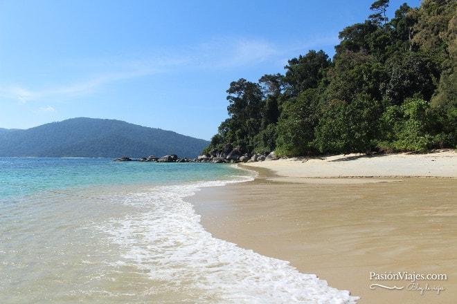 Playa paradisíaca de Koh Adang.
