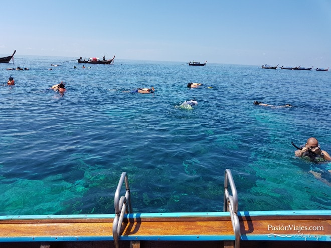 Snorkeling en Koh Hin Ngam, cerca de Koh Lipe.